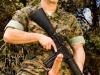 As a Marine in Folsom Maneuvers (photo by Brian Mills)