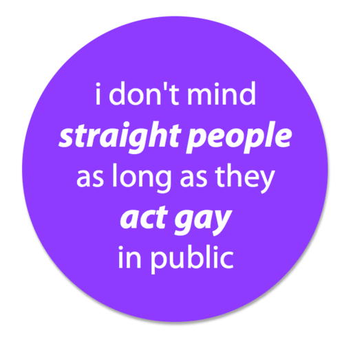 don't mind straight people