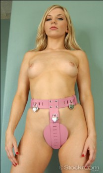 Deluxe Female Chastity Belt_2