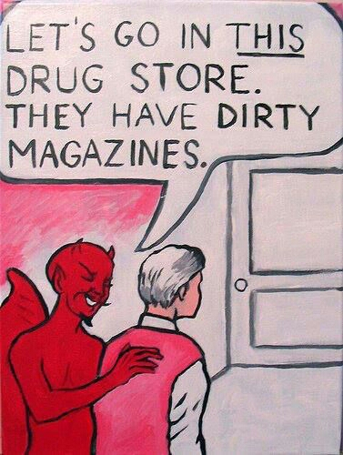 dirty magazines