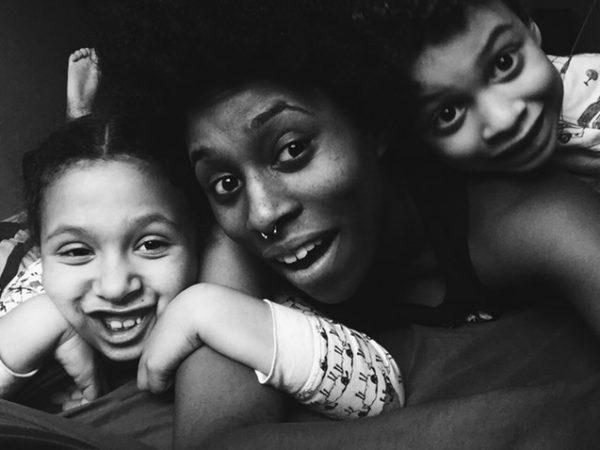 Margaret E Jacobsen & kids