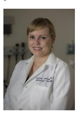 Dr. Vanessa Kennedy, assistant professor in gynecological oncology, UC Davis Health System, Sacramento.