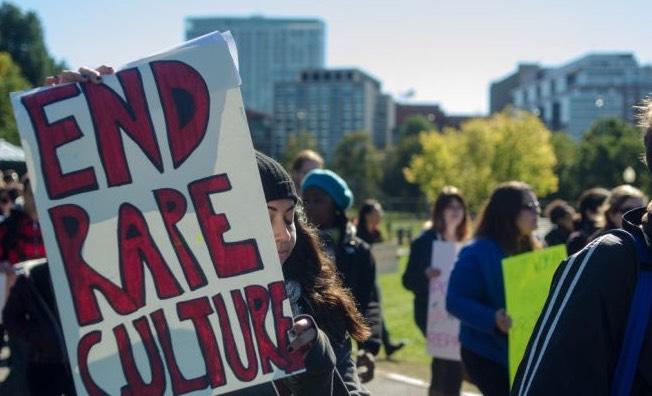 March against rape culture